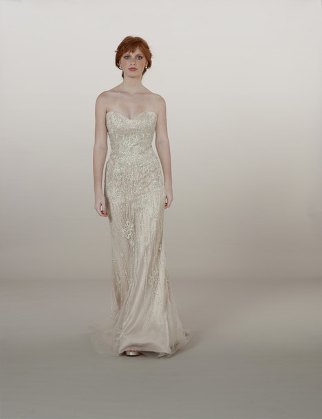5877 gown from the 2014 Liancarlo collection, as seen on Bride.Canada