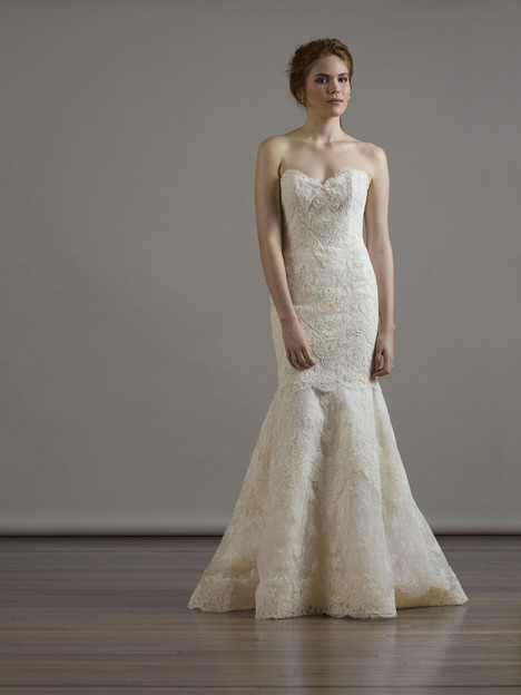 6801 (2 pc) gown from the 2015 Liancarlo collection, as seen on Bride.Canada