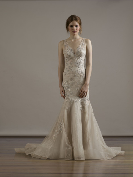 6813 gown from the 2015 Liancarlo collection, as seen on Bride.Canada