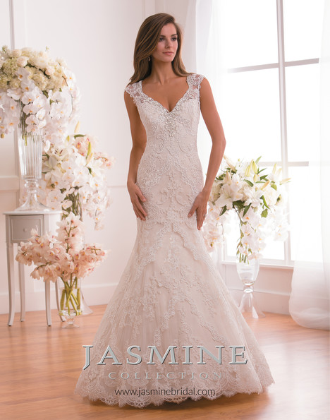 gown from the 2015 Jasmine Collection collection, as seen on Bride.Canada
