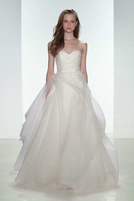 Erin gown from the 2015 Amsale Nouvelle collection, as seen on Bride.Canada