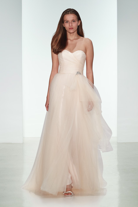 Gwynn gown from the 2015 Amsale Nouvelle collection, as seen on Bride.Canada
