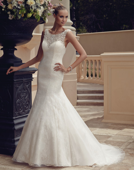 2185 gown from the 2015 Casablanca Bridal collection, as seen on Bride.Canada
