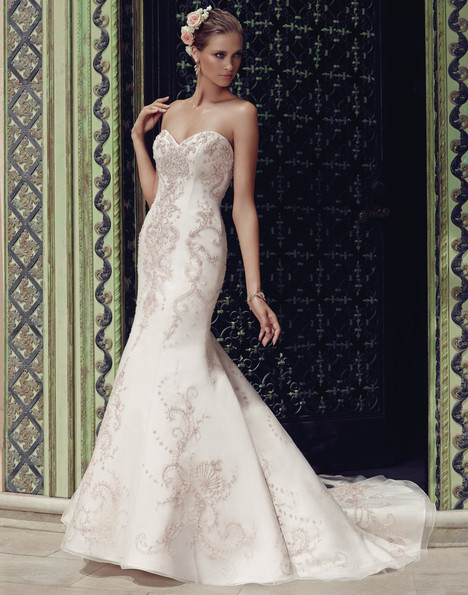 2189 gown from the 2015 Casablanca Bridal collection, as seen on Bride.Canada