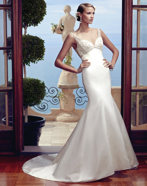 2193 gown from the 2015 Casablanca Bridal collection, as seen on Bride.Canada