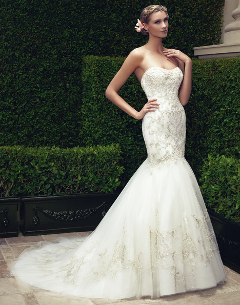 2197 gown from the 2015 Casablanca Bridal collection, as seen on Bride.Canada