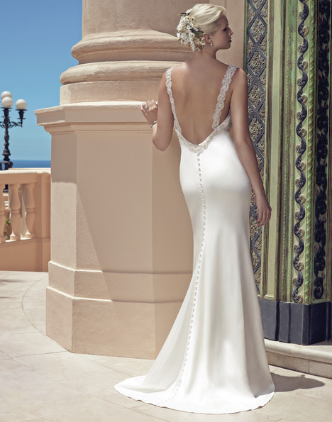 2200 (back) gown from the 2015 Casablanca Bridal collection, as seen on Bride.Canada