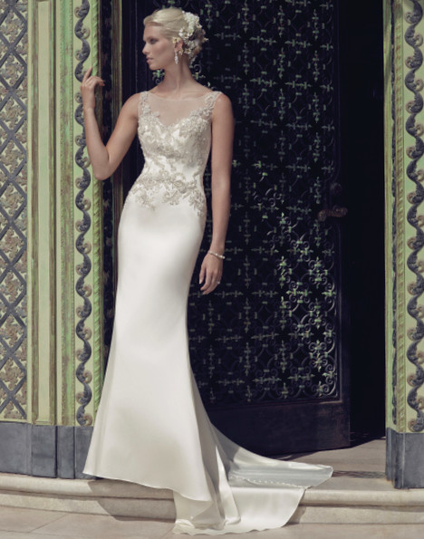 2202 gown from the 2015 Casablanca Bridal collection, as seen on Bride.Canada