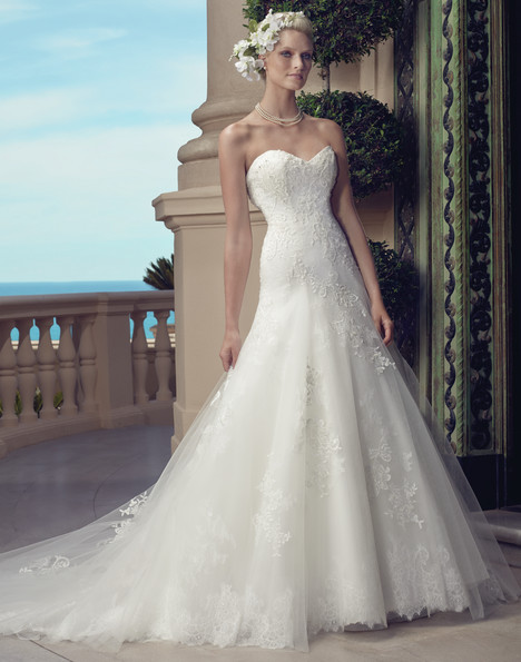 2203G gown from the 2015 Casablanca Bridal collection, as seen on Bride.Canada