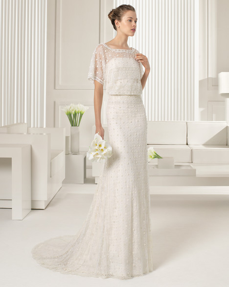 Semilla gown from the 2015 Rosa Clara Couture collection, as seen on Bride.Canada