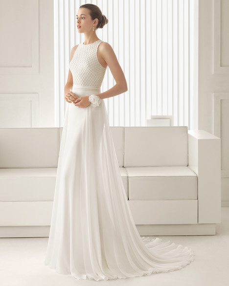 Siena gown from the 2015 Rosa Clara Couture collection, as seen on Bride.Canada