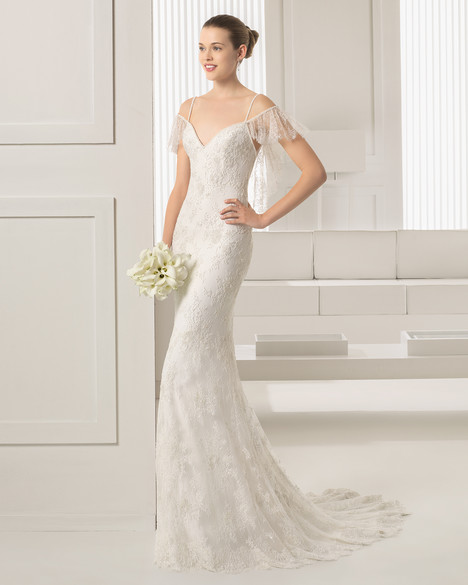 Silverstre gown from the 2015 Rosa Clara Couture collection, as seen on Bride.Canada
