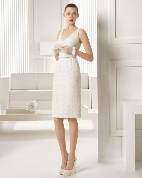 Simpatia gown from the 2015 Rosa Clara Couture collection, as seen on Bride.Canada