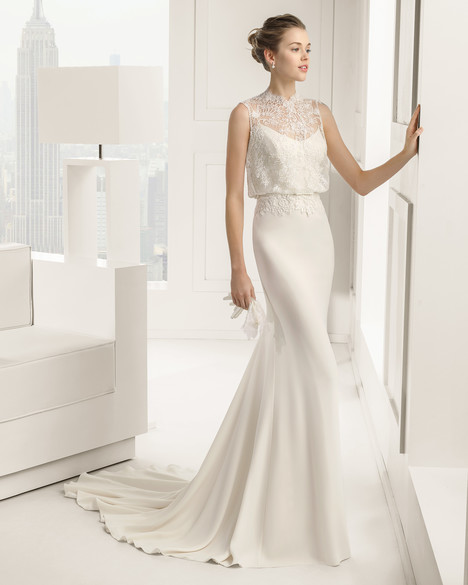 Sabrina gown from the 2015 Rosa Clara Couture collection, as seen on Bride.Canada