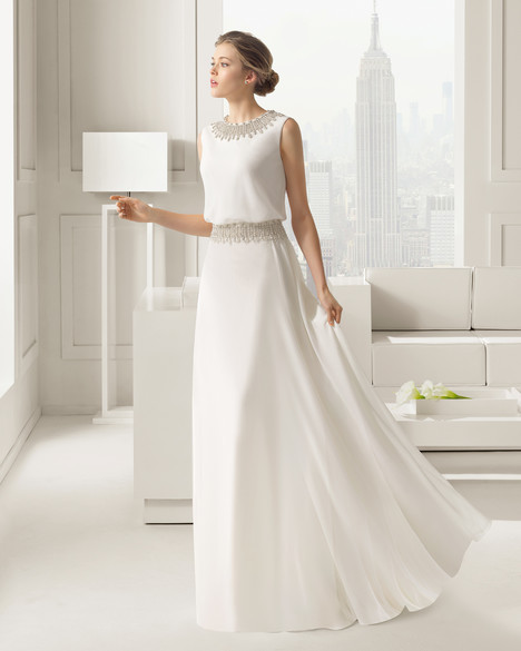 Sahara gown from the 2015 Rosa Clara Couture collection, as seen on Bride.Canada