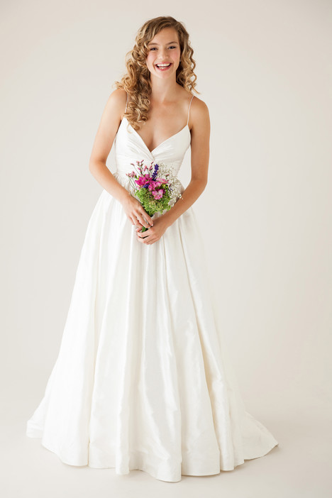 Charming gown from the 2015 Astrid & Mercedes collection, as seen on Bride.Canada