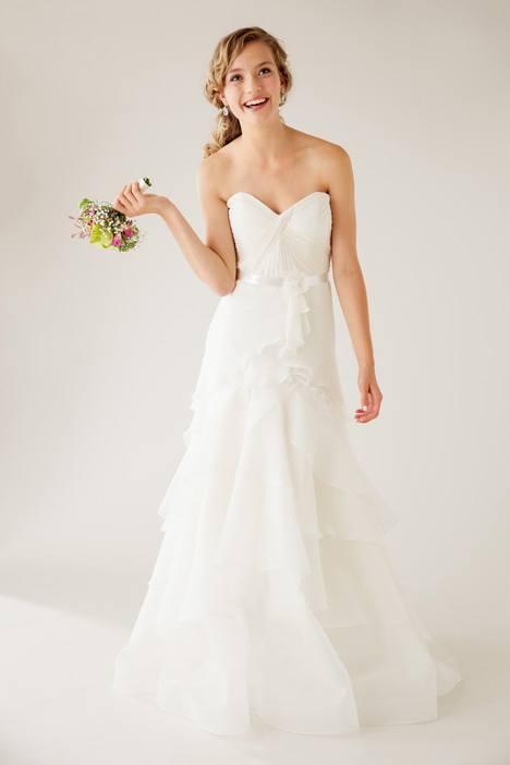Exquisite gown from the 2015 Astrid & Mercedes collection, as seen on Bride.Canada