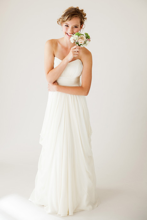 Goddess gown from the 2015 Astrid & Mercedes collection, as seen on Bride.Canada