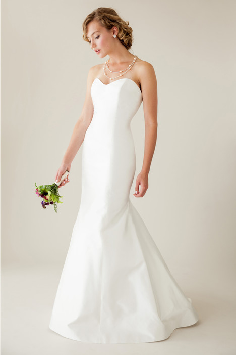 Graceful gown from the 2015 Astrid & Mercedes collection, as seen on Bride.Canada
