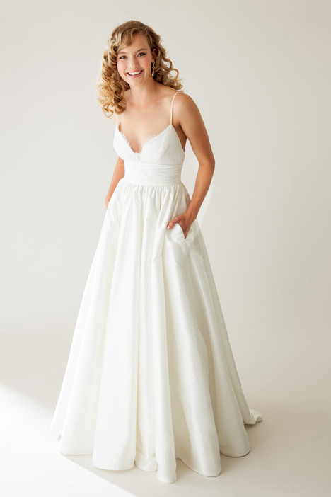 Lovely gown from the 2015 Astrid & Mercedes collection, as seen on Bride.Canada