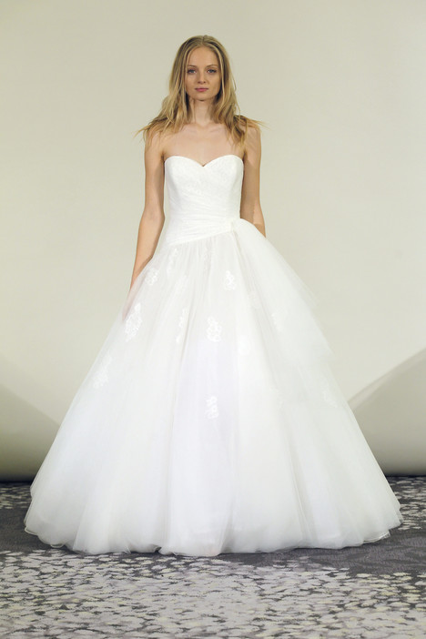 Kylie gown from the 2015 Alyne collection, as seen on Bride.Canada