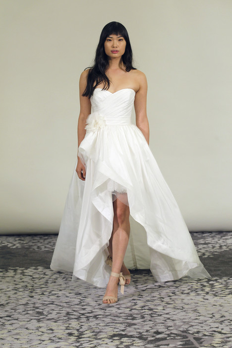Lorri gown from the 2015 Alyne collection, as seen on Bride.Canada