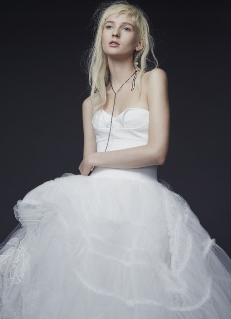 Pia gown from the 2015 Vera Wang collection, as seen on Bride.Canada