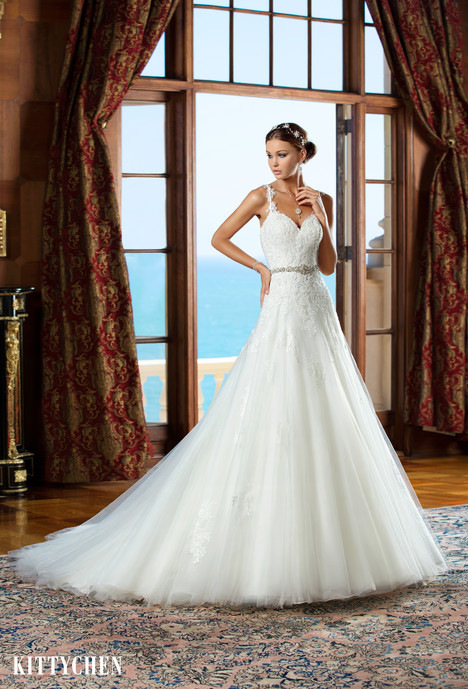 Amelia gown from the 2015 KittyChen collection, as seen on Bride.Canada
