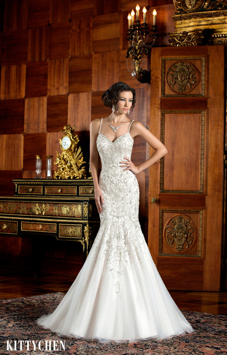 Ariana gown from the 2015 KittyChen collection, as seen on Bride.Canada