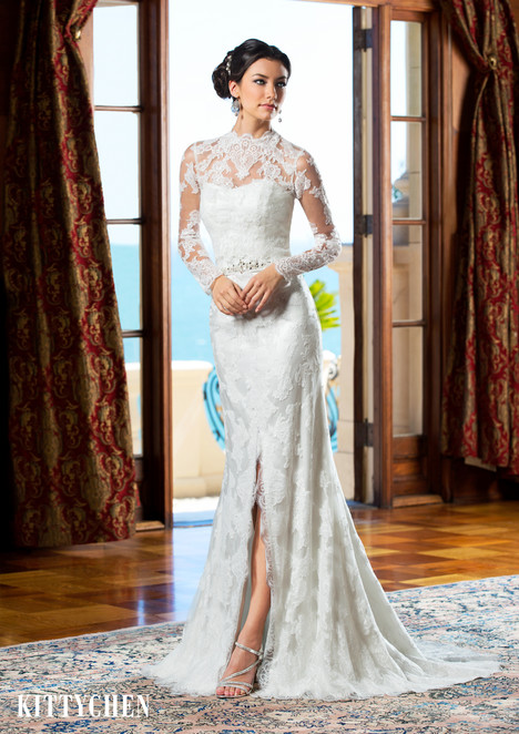 Doris Day gown from the 2015 KittyChen collection, as seen on Bride.Canada