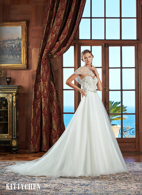 Grace Kelly gown from the 2015 KittyChen collection, as seen on Bride.Canada
