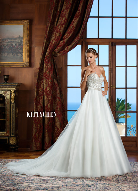 Grace gown from the 2015 KittyChen collection, as seen on Bride.Canada