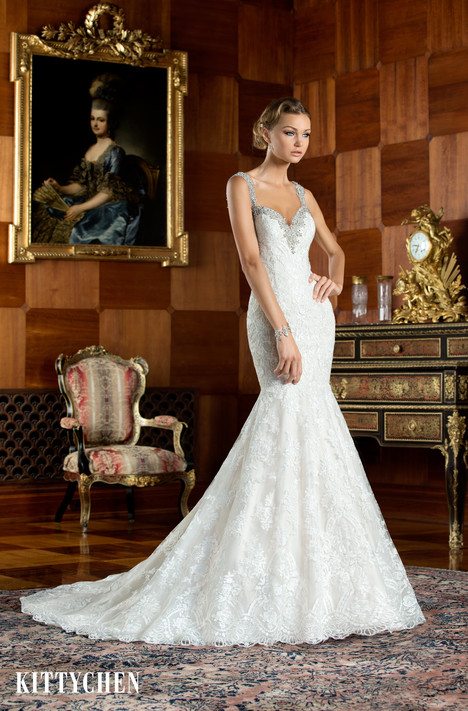 Portia gown from the 2015 KittyChen collection, as seen on Bride.Canada