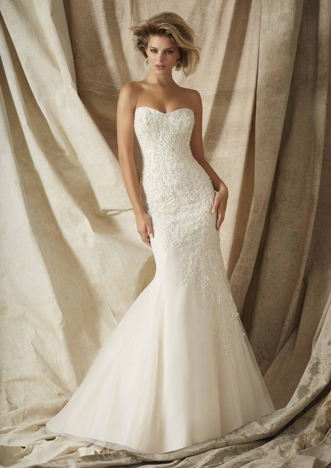 1322 gown from the 2015 Morilee AF Couture collection, as seen on Bride.Canada