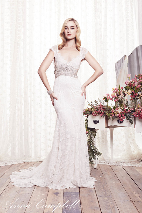 Harper gown from the 2015 Anna Campbell collection, as seen on Bride.Canada