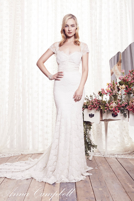 Saasha gown from the 2015 Anna Campbell collection, as seen on Bride.Canada