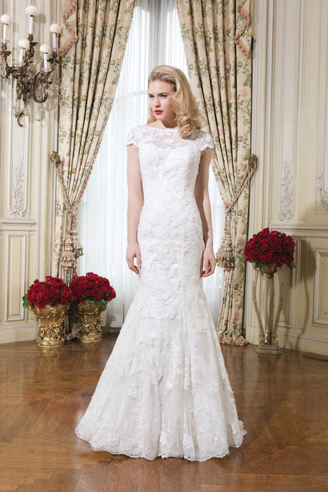gown from the 2015 Justin Alexander collection, as seen on Bride.Canada