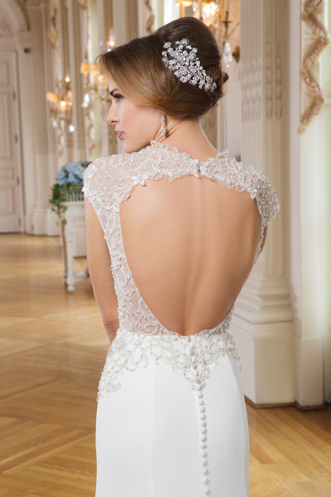 6340 (back) gown from the 2015 Lillian West collection, as seen on Bride.Canada