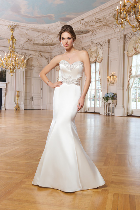 6341 gown from the 2015 Lillian West collection, as seen on Bride.Canada