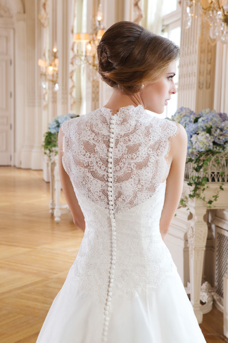 6348 (back) gown from the 2015 Lillian West collection, as seen on Bride.Canada