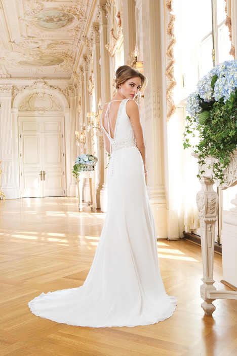 6350 (back) gown from the 2015 Lillian West collection, as seen on Bride.Canada