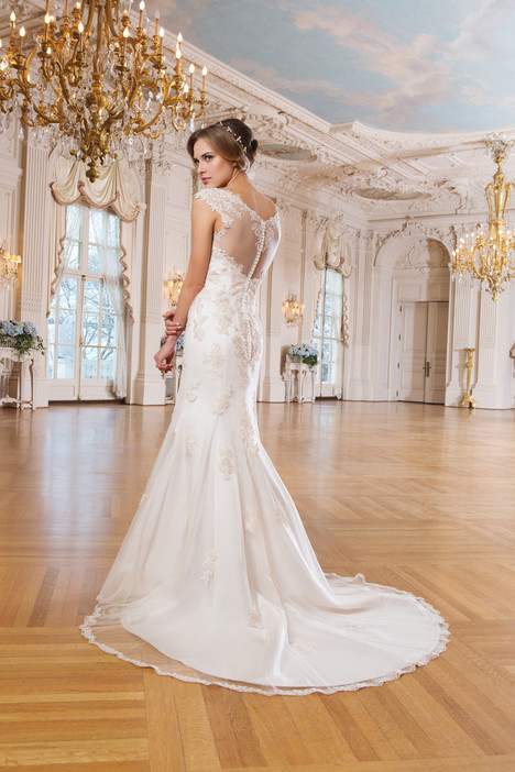 6356 (back) gown from the 2015 Lillian West collection, as seen on Bride.Canada