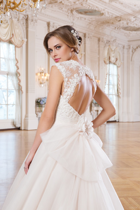 6360 (back) gown from the 2015 Lillian West collection, as seen on Bride.Canada