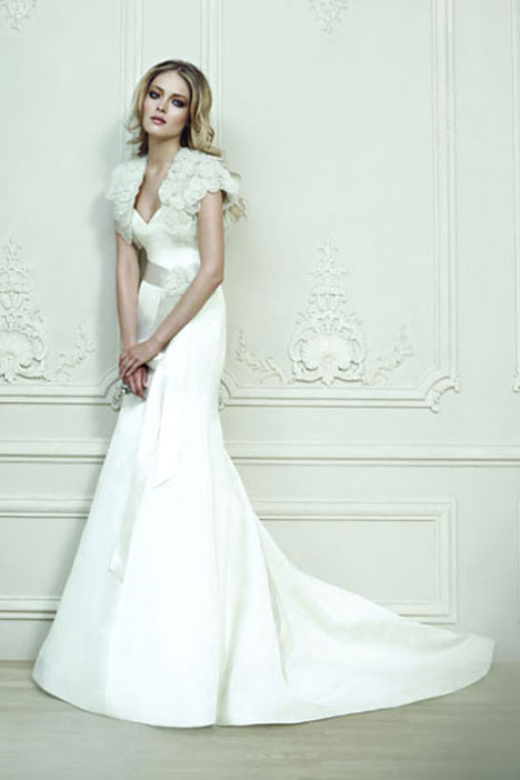 Armane gown from the 2010 Rivini collection, as seen on Bride.Canada