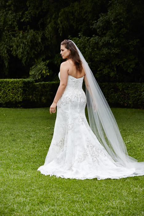 Trumpet (back) gown from the 2015 Wtoo Curve collection, as seen on Bride.Canada