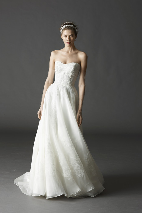 Asher gown from the 2015 Watters Brides collection, as seen on Bride.Canada