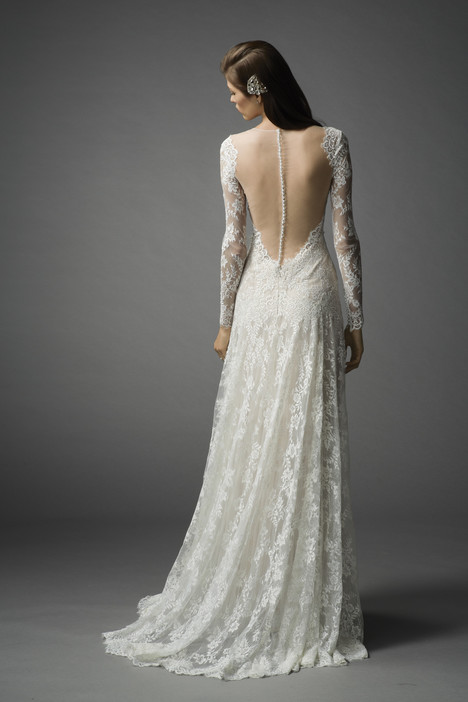 Arcelia (back) gown from the 2015 Watters Brides collection, as seen on Bride.Canada