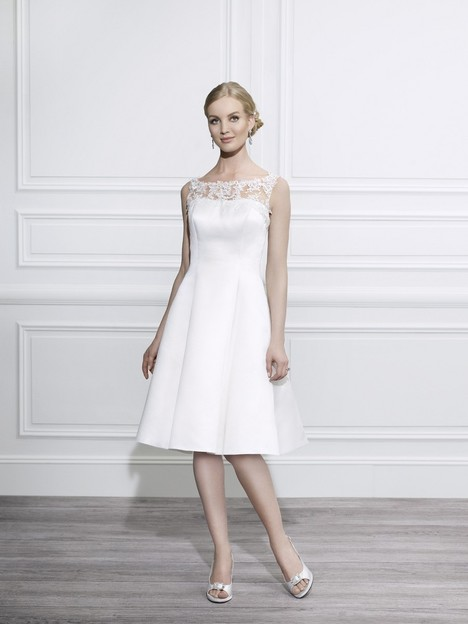 T641 gown from the 2014 Moonlight : Tango collection, as seen on Bride.Canada