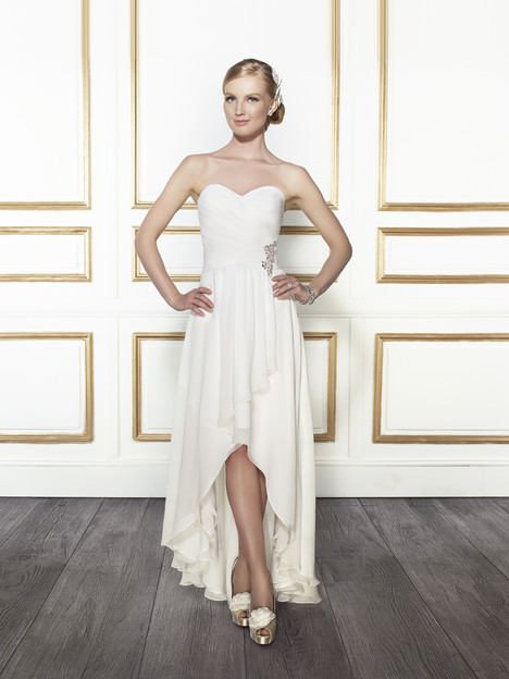 T665 gown from the 2015 Moonlight : Tango collection, as seen on Bride.Canada
