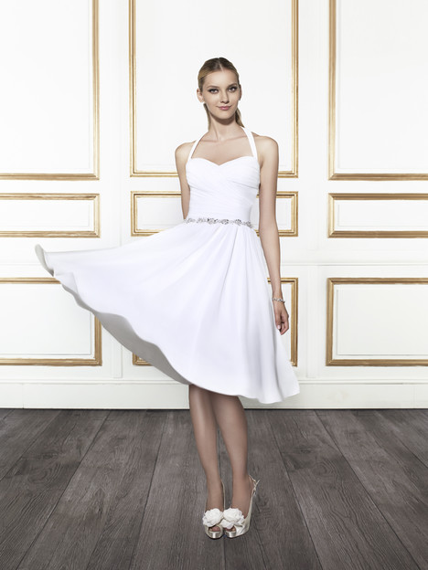 T667 gown from the 2015 Moonlight : Tango collection, as seen on Bride.Canada